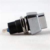 Schalter mit Ein- und Ausrastfunktion, Schaltleistung von maximal 125V/3A