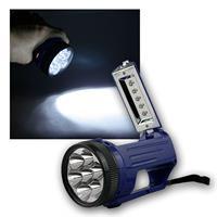 Mini LED-Handscheinwerfer, 7+5 LEDs, Trageschnur