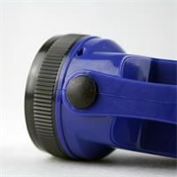 Druckschalter zum Ein-/Ausschalten und Wechslen der Leuchtfläche