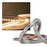 "50m LED-Stripe ""Ultra-Bright"" 230V, IP44 warmweiß"