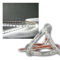 "50m LED-Stripe ""Ultra-Bright"" 230V, IP44 kaltweiß"