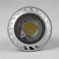 LED Leuchte MR11 mit 1x HighPower LED im Aluminiumgehäuse mit Abdeckung