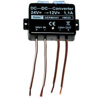 KEMO voltage converter 24V to 13.8V max. 1.1A