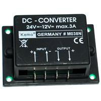 KEMO voltage converter 24V to 13.8V max. 3A