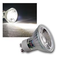 "GU10 LED Strahler ""H35 COB"" Glas, daylight, 250lm"