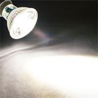 GU10 LED Spot mit 420lm Lichtstrom vergleichbar mit konventionellen 50W Strahlern