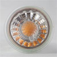 LED Leuchtmittel GU10 hat eine 5W Highpower COB LED in einem Glasgehäuse