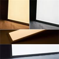 Mit diesen LED-Panelen kann zwischen warmweißem oder kaltweißem Licht gewechselt werden.