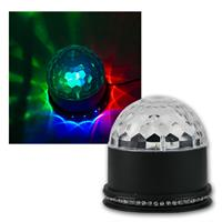 "LED party light ""ASTRO-Mini"" RGB 3x3W LEDs"