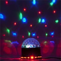 bunte LEDs zaubern bunte Lichteffekte an Wände oder Decken