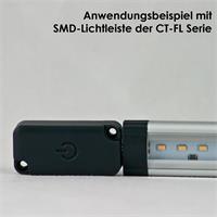 praktischer Dimmschalter für SMD Unterbauleuchten der Serie CT-FL