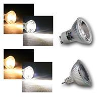 LED Strahler H35/50 COB Glas warm/kaltweiß