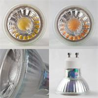 LED Strahler in unterschiedlicher Leuchtfarbe, Leistung und Sockel