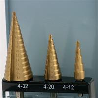 Spezialbohrer für präzise Bohrungen in Metallen, NE-Metallen, Plastik oder Holz