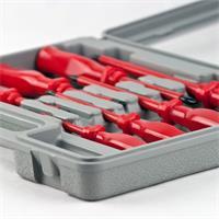 Handwerkzeug-Set aus gehärteten Werkzeugstahl ist ideal zum Schrauben