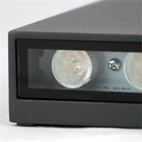 LED Außenleuchte mit zwei COB-LEDs und klarer Abdeckung