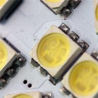 LED Spot MR11 mit 12x 3-Chip 5050 SMD LEDs im Vollglasgehäuse ohne Abdeckung