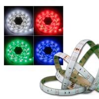 RGB-Stripe Set 5m, 150 LED, inkl. Netzt + Controll