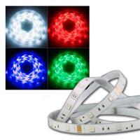 RGB LED Stripe Set 5m, 150 LEDs, IP44 für Außen