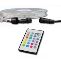 LED RGB Streifen mit Halteclips für einfache Befestigung