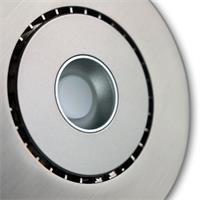 LED Einbaustrahler im Edelstahl-Design und ca. 6,8W Verbrauch