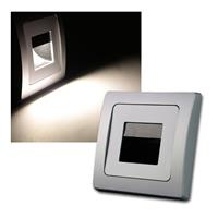 DELPHI LED downlight COB |  silver | 110lm | 80x80mm