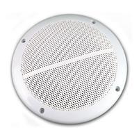 """Paar Außen-Lautsprecher weiß CT-65 8 Ohm 6,5"""" 100W"""