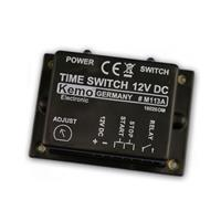 Time switch 12 - 15 V/DC, max. 3A, Kemo M113A