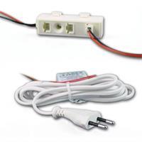 LED Leuchtmittel mit nur ca. 3W Verbrauch hier Verteiler + Anschlusskabel