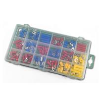 Assorted cable crimp connector, 175 pieces