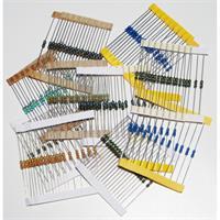 10 verschiedene Widerstandswerte mit jeweils 20 Stück