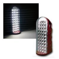 LED Akku Handstrahler, 40 SMD LEDs, Notlicht-Funkt