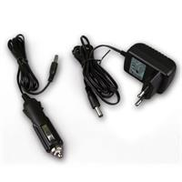 LED Fluter mit Ladegerät und Auto-Adapter für Akkuladung
