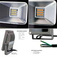 LED Fluter-Lampe goobay als 15W, 35W oder 50W-Version