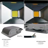 LED-Fluter goobay leuchtet kalt- oder warmeiß