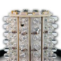 Rundumleuchte mit abschraubbarem Leuchtglas