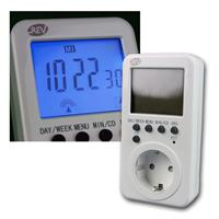 digital timer with radio clock | 28 programs & buffer batter