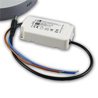 LED Deckenleuchte mit LED Trafo zum direkten Anschluss an 230V