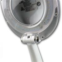 Lupenkopf mit Schutzkante und Abdeckklappe für Lupenlinse