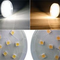 GX53-Leuchtmittel als Ausführung in warmweiß oder daylight