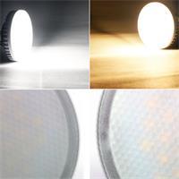 GX53-Leuchtmittel mit 220 bis 580lm Lichtintensität