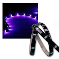 "1m LED Stripe ""CLS-100UV"", 30x 5050 SMD UV LEDs"