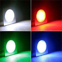 LED Einbauspot mit 6 RGB-LEDs und ca. 25lm Lichtstrom