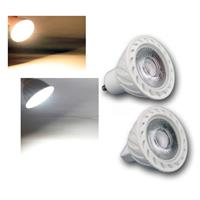 MR16/GU10 LED Strahler H60 COB | warmweiß/daylight | 7W