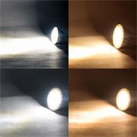 7W LED Strahler mit GU10/MR16-Sockel in 2 Leuchtfarben