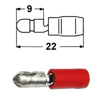 Abmessungen für Rundstecker, für Kabelnennquerschnitte 0,5-1,5mm²