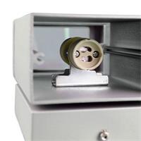 LED Leuchte mit Sockel GU10 für zwei LED Leuchtmittel bis je 35W