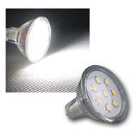 MR11 Strahler, 8 SMD LED kaltweiß, 150lm, 12V/2W