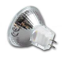 LED-Lampe MR11 im Vollglasgehäuse mit einer Länge von 40mm