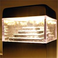 LED Wandstrahler mit integrierten Bewegungsmelder
